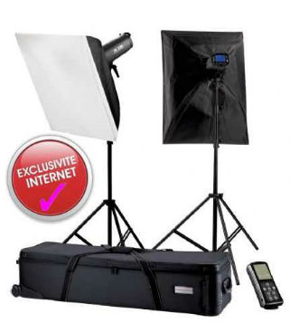 Falcon Eyes Studio Flash kit TFK-2400L  2X400W